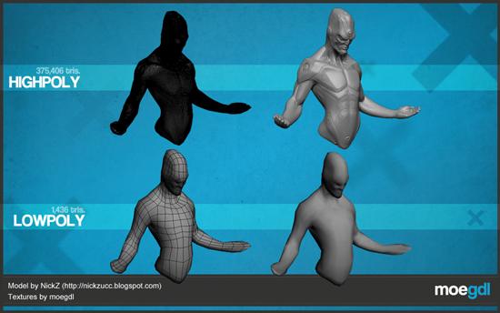 Modelo por NickZ, Texturizado por Moe (moegdl)